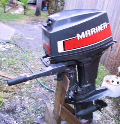 Used 40 hp mariner outboard motor for sale mariner outboards for Outboard motors for sale in wisconsin