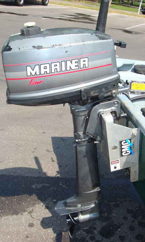 4 Hp Mariner Long Shaft Outboard For Sale