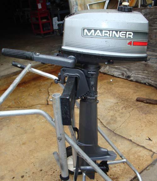 4 hp mariner long shaft outboard for sale for Long shaft trolling motor for sale