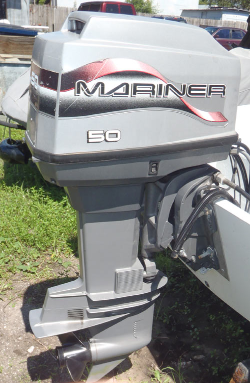 Mariner Outboard Motors >> 50hp Mercury Outboard For Sale