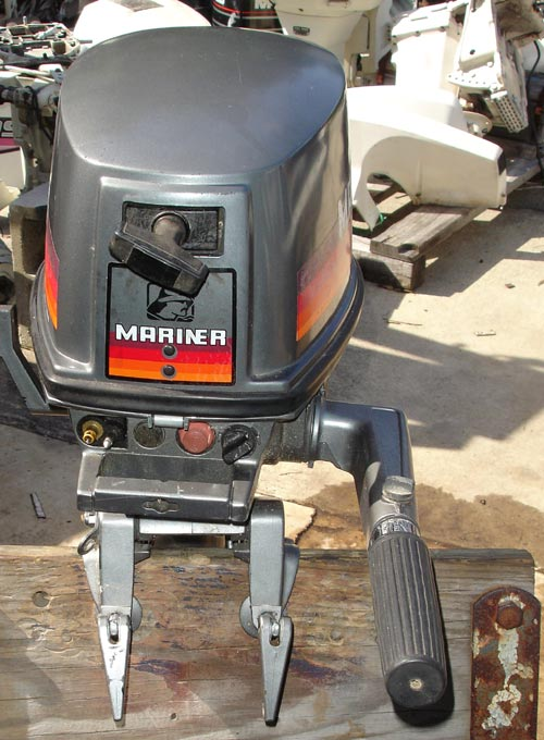 5hp Mariner Outboard Boat Motor For Sale