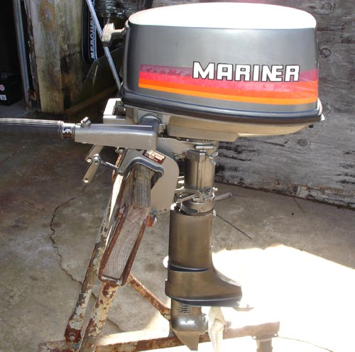 Used Engines For Sale >> 5hp Mariner Outboard Boat Motor For Sale.