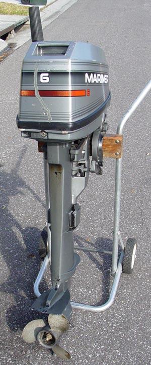 Mariner 6 Hp Long Shaft Outboard Motor For Sale