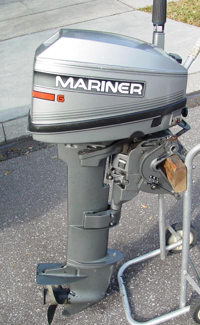 Mariner 6 hp long shaft outboard motor for sale for 20 hp motor for sale