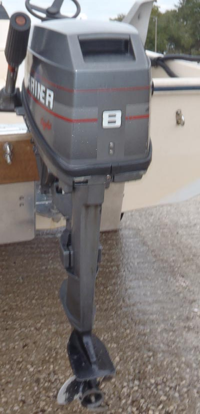 8 Hp Mariner Outboard Boat Motor For Sale