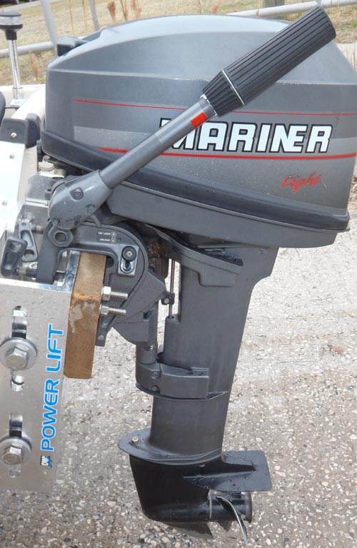 Side on 15 Hp Mercury Outboard Manual