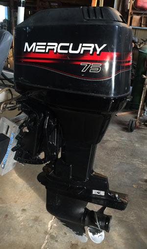 90 Hp Mercury Outboard Boat Motor For Sale