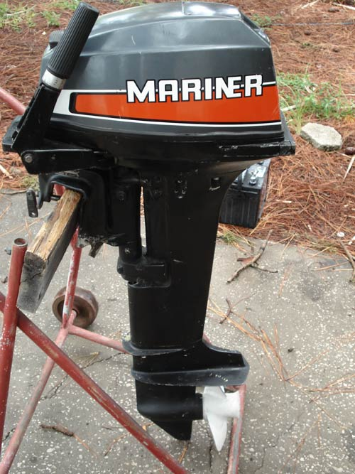 Fishing Pontoon Boats For Sale >> 9.9hp Mariner Long Shaft Outboard.