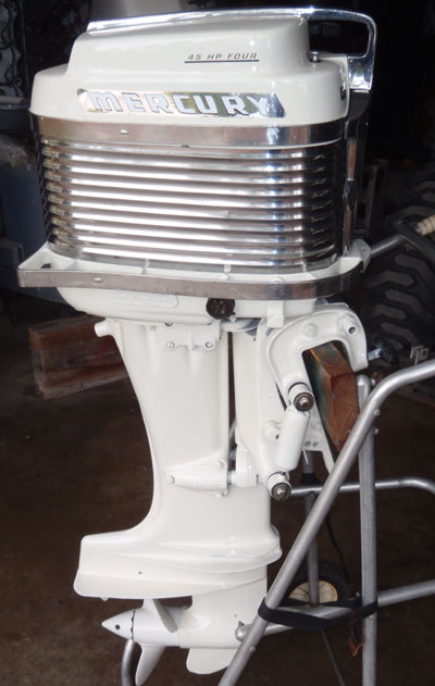 Mercury merc 350 40 hp antique vintage outboard for sale for Classic motors for sale