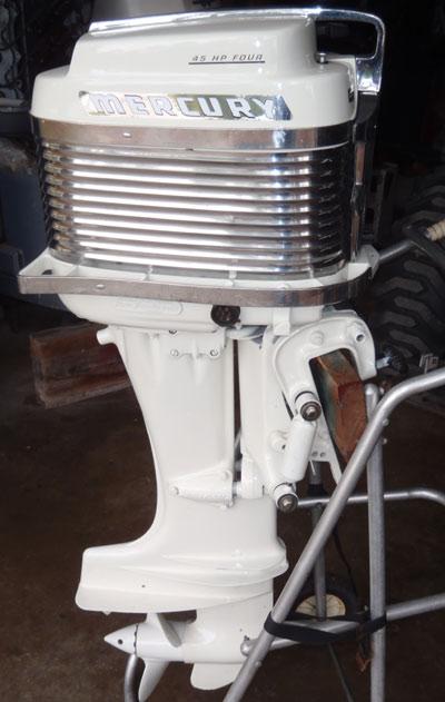 Mercury Merc 350 40 Hp Antique Vintage Outboard For Sale