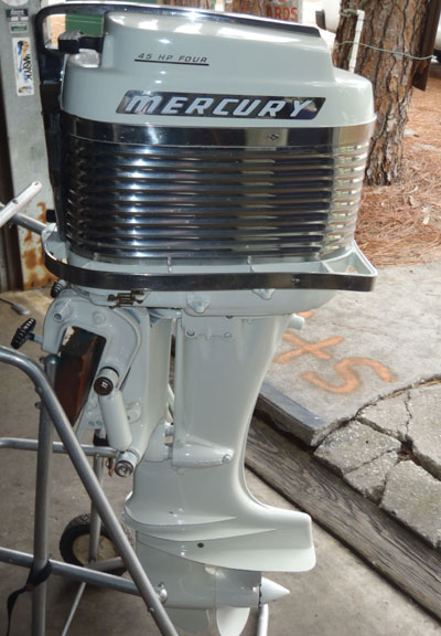 Mercury Merc 350 40 Hp Antique Vintage Outboard For Sale