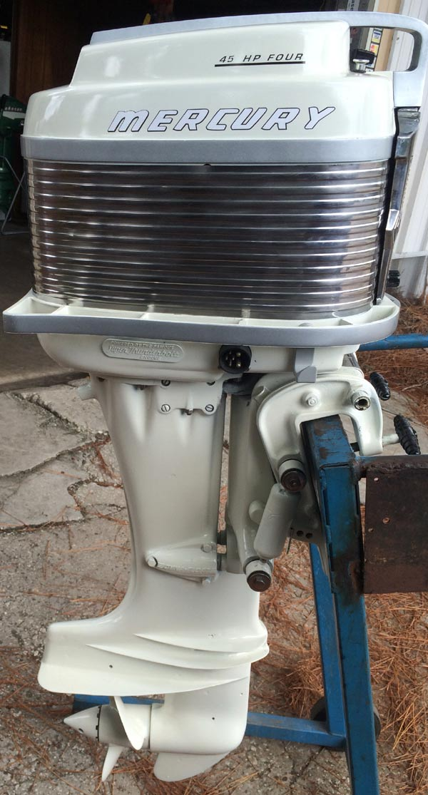 Mercury mark 58a 45 hp mercury vintage classic outboard for Classic motors for sale