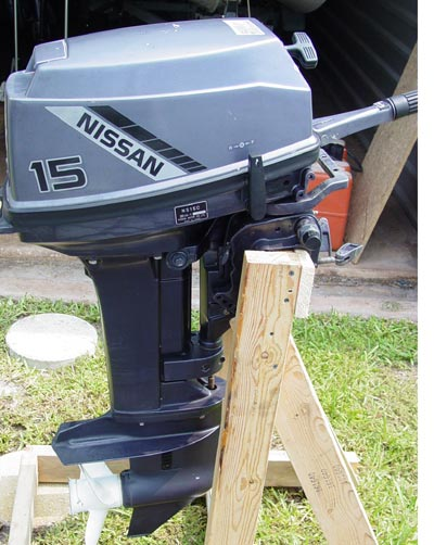 15 Hp Nissan Outboard