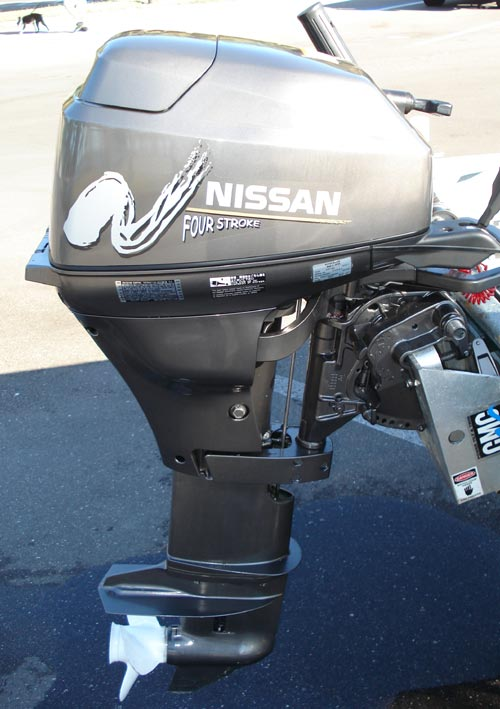 Side on Yamaha 4 Stroke Outboard Manuals