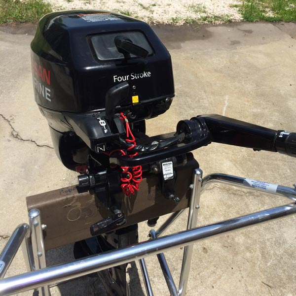 Aluminum Fishing Boats For Sale >> Used Nissan 18 hp Outboard Motor. Nissan Outboards