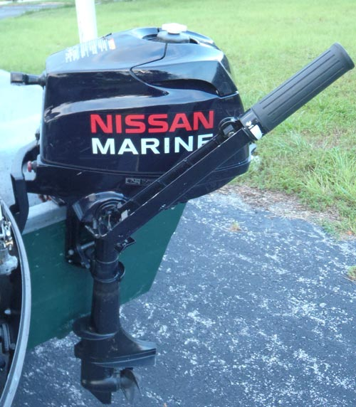 2 Hp Nissan Outboard Boat Motor 2 5 Hp Nissan Outboard 4