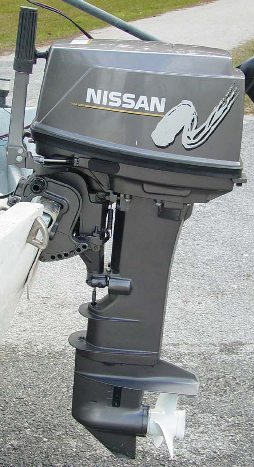 25 Hp Nissan Outboard Long Shaft Electric Start