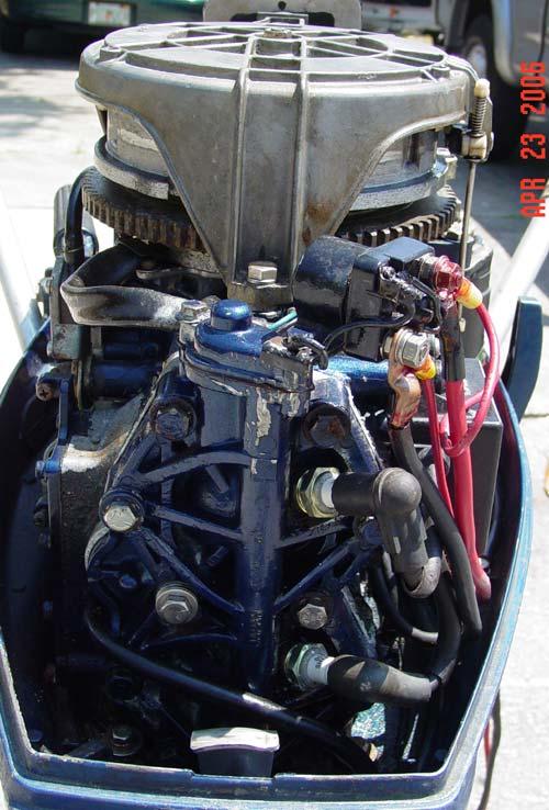 Nissan 25 Hp Outboard Boat Motor