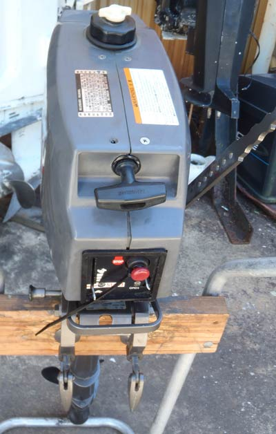 Tohatsu 3 5 Hp Long Shaft Outboard Boat Motor For Sale