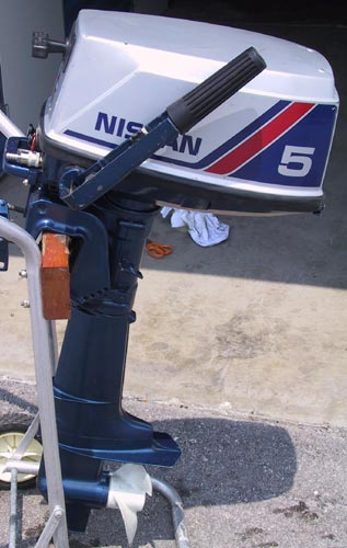 Used Nissan 5 hp Outboard Boat Motor For Sale Nissan Outboards