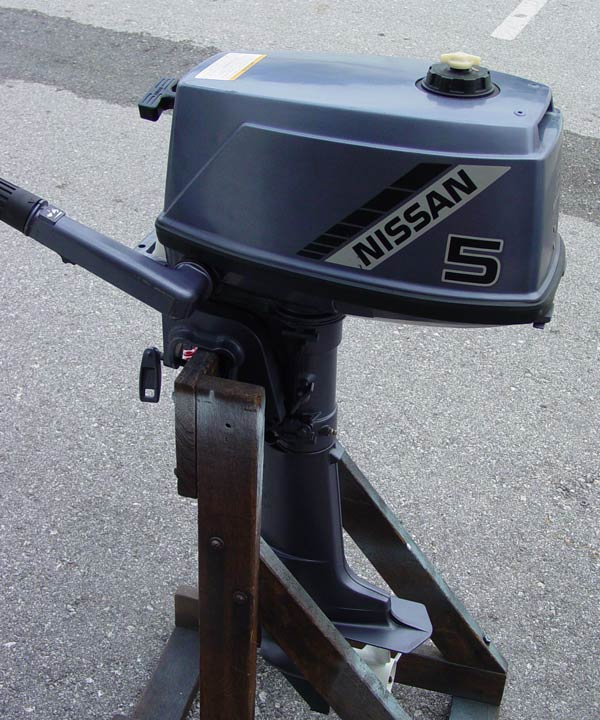 nissan 5hp outboard weight