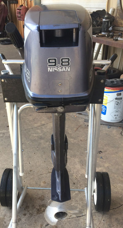 Used Nissan 9 8 Hp Outboard Motor Nissan Outboards