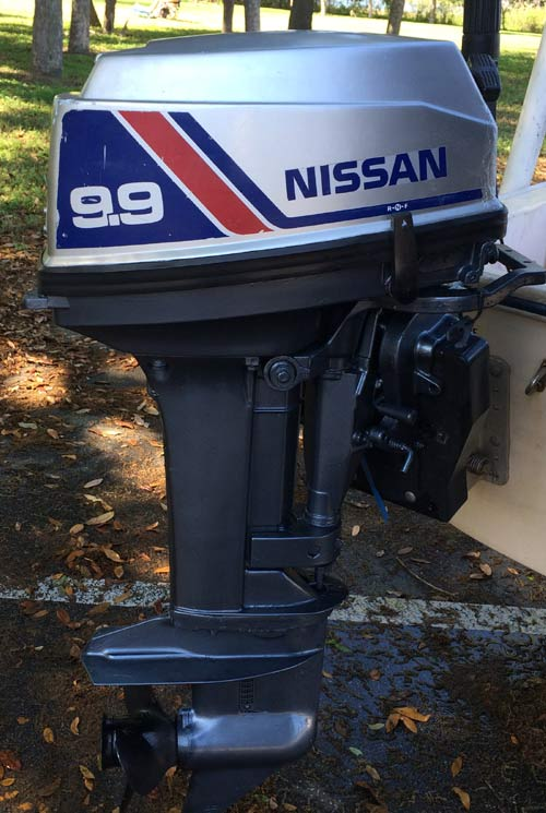 Used nissan 9 9 hp outboard motor nissan outboards for 9 9 hp outboard motors