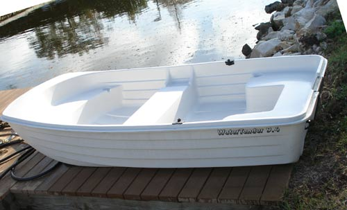 Best dinghys autos post for Small plastic fishing boats
