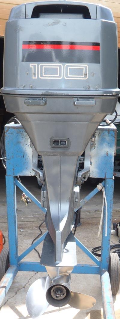 Suzuki Boat Motors >> Used Suzuki 100 hp Outboard Boat Motor For Sale.