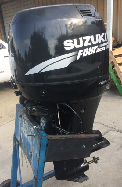 Used suzuki 100 hp outboard boat motor for sale for Suzuki boat motors for sale