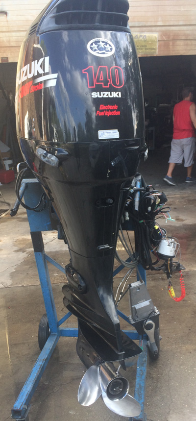 Suzuki 140 hp 4 stroke outboard boat motor for sale for 4 stroke motors for sale