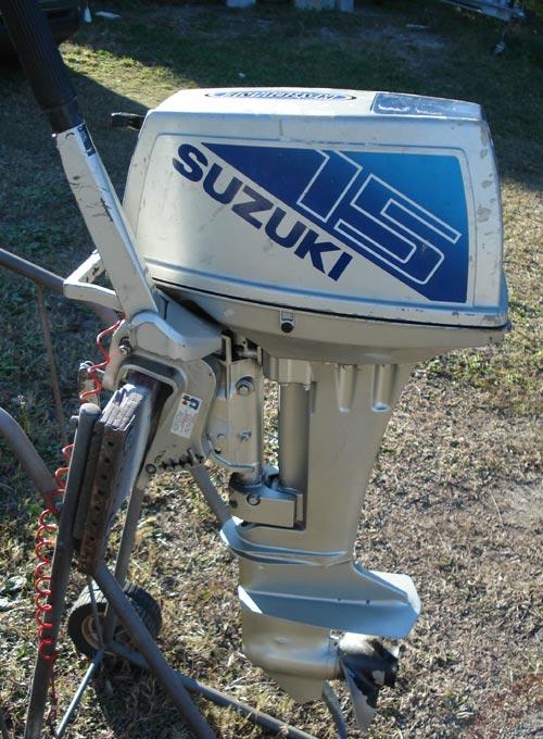 Used Suzuki 15 Hp Outboard Boat Motor Suzuki Outboards