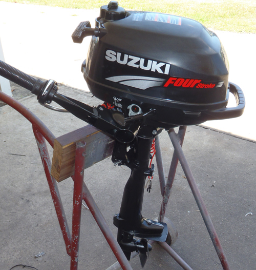suzuki 2 5 hp 4 stroke outboard motor for sale