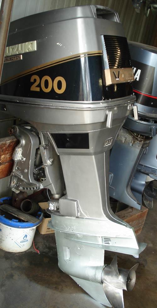 Used Suzuki DT 200 hp Outboard Motor Suzuki Outboards