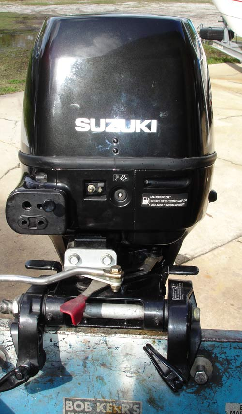 2007 30 Hp Suzuki Long Shaft 4 Stroke Outboard