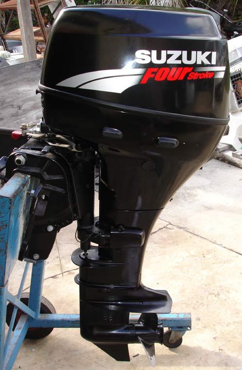 2007 30 hp Suzuki Long Shaft 4 Stroke Outboard.