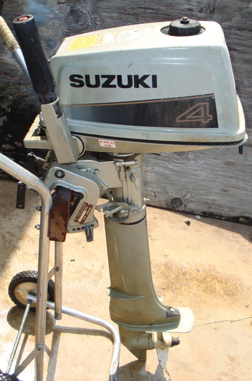 Suzuki 4 hp outboard for Suzuki outboard motor repair