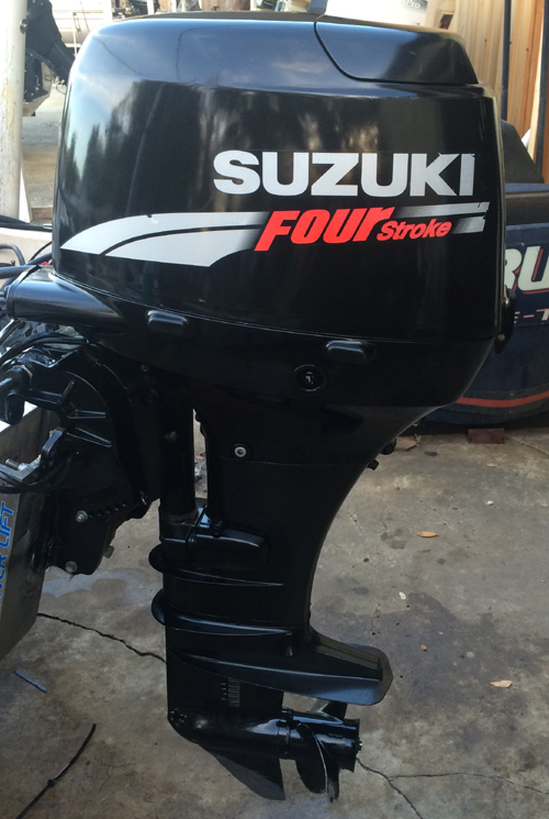 suzuki 50 hp 4-stroke outboard boat motor for sale