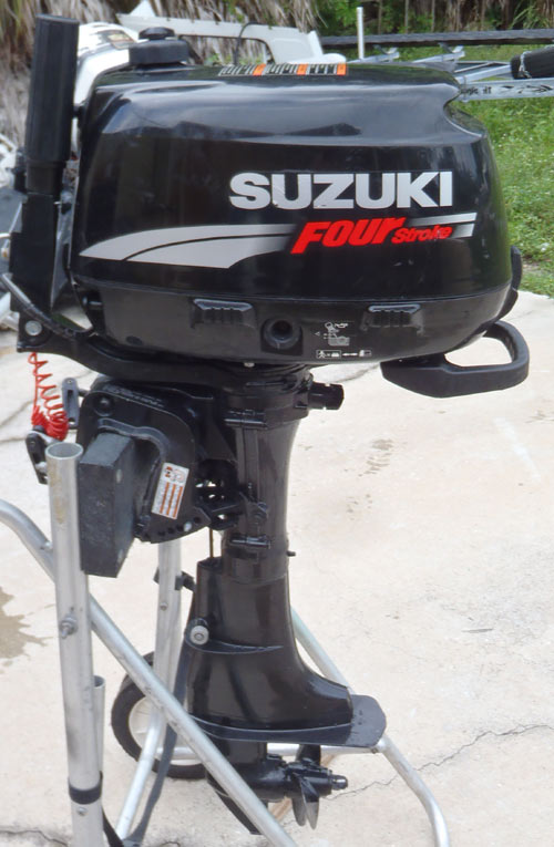 used suzuki 6 hp outboard 4-stroke outboard for sale