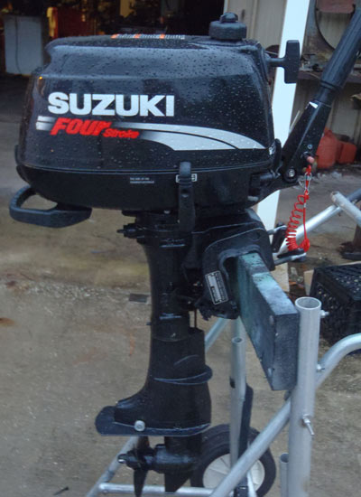 Used Suzuki 6 hp Outboard 4-stroke outboard for sale
