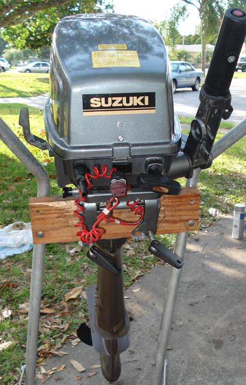 Used Sailboats For Sale >> Used Suzuki 6 Hp Outboard Boat Motor Long Shaft