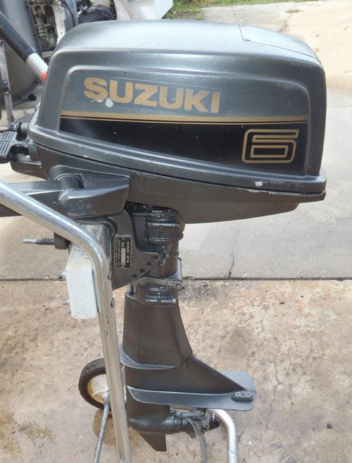 Used 1999 Suzuki 6 Hp Outboard Motor For Sale Suzuki Boat
