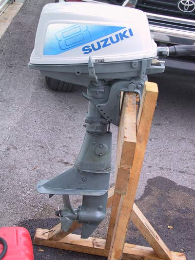 Used suzuki 8hp outboard boat motor for sale for Reconditioned motors for sale