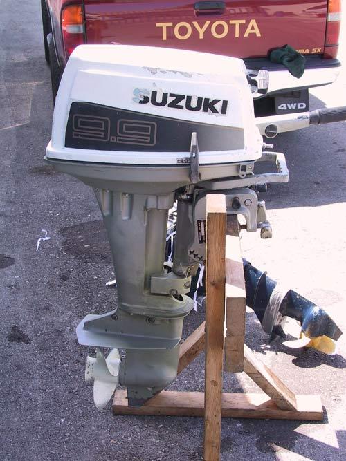 Used Suzuki 9 9 Hp Outboard Boat Motor Suzuki Outboards
