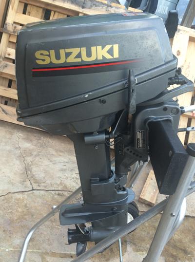 Used 1997 Suzuki 9 9 Hp Outboard Motor For Sale Suzuki Boat Motors