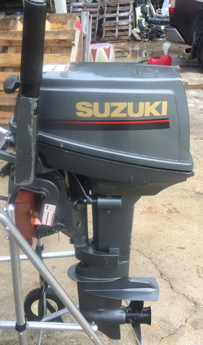 Suzuki Oil Injected Outboard Motor Motorcycle Image Ideas