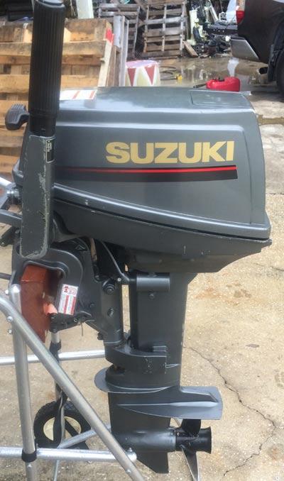 Used 1997 suzuki 9 9 hp outboard motor for sale suzuki for 15 hp electric boat motor