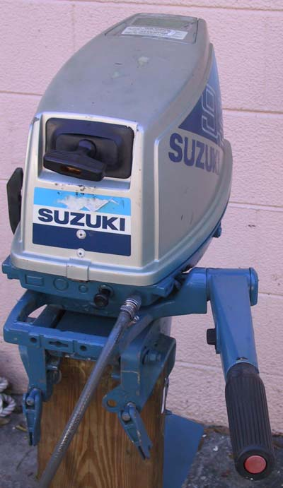 Used suzuki 9 9 hp outboard boat motor for sale suzuki for Boat motor parts near me