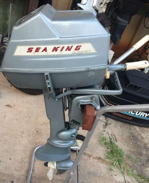 Montgomery Ward Sea King 5 Hp Outboard Boat Motor For Sale