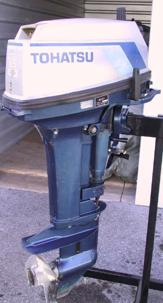 12 hp nissan tohatsu outboard boat motor for sale for Tohatsu boat motors for sale